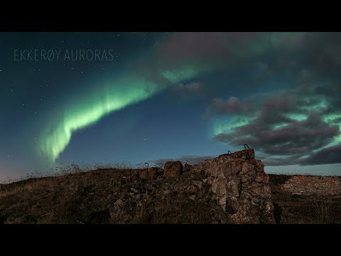 Ekkerøy Auroras 11.10.2019 (4K TIMELAPSE)