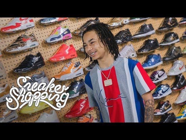 6fd00aec569dea YBN Nahmir  Sneaker Shopping  in Flight Club LA