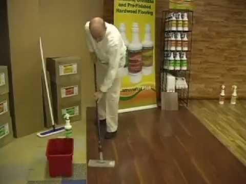 Lamanatorplus Laminate Floor Cleaning Restoration Youtube