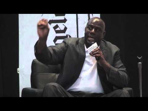 Magic Johnson on converse commercial