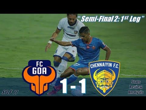 ISL 2018 Semi-Final: FC Goa vs Chennaiyin FC | 1 - 1 | Match Review, Stats, Analysis...