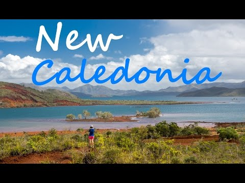 New Caledonia backpacking 2016