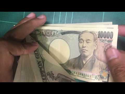 Counting Money Japanese Yen (JPY)