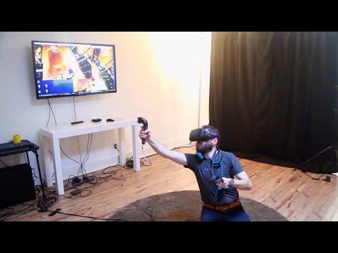 Survios Virtual Reality Game Demo