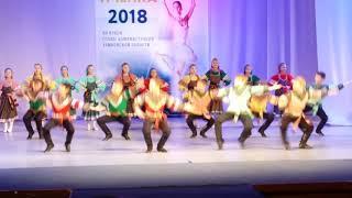 Русский народный танец Играй гармонь разговаривай Тамбовская пчелка 2018