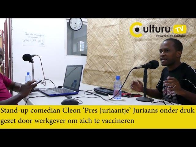 Surinamer Pres Jurriaantje: