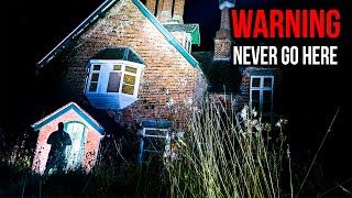 WE NEED TO GET OUT OF HERE - Ghost Hunting at REALLY HAUNTED House