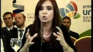 Discurso de Cristina Fernandez de Kirchner en Mercosur