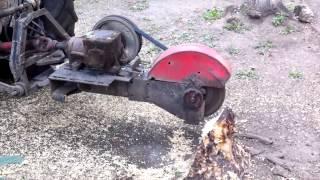 Remove stumps in a new way Удаление пней по новому