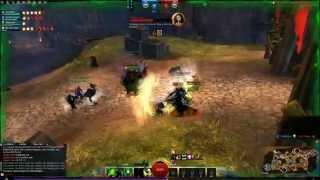 Guild Wars 2 Hot Stronghold - Necromancer Pvp - Pugs Vs Premade