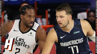 Los Angeles Clippers vs Dallas Mavericks - Full Game Highlights | August 6 | 2019-20 NBA Season