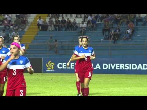 CU20W: USA vs HONDURAS Highlights
