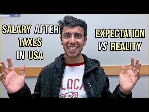 Salary After Taxes In US: Part Time & Full Time | The Reality