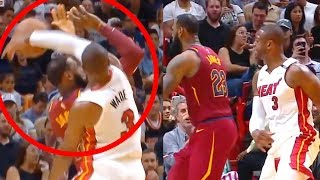 """Wade Blocks LeBron and Tells Him to """"Get Outta Here!"""" (Random Moments Week 10)"""