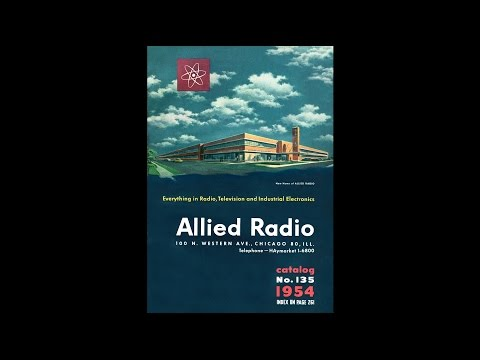 1954 Allied Radio - Everything In Radio, Television & Industrial Electronics Catalog #135
