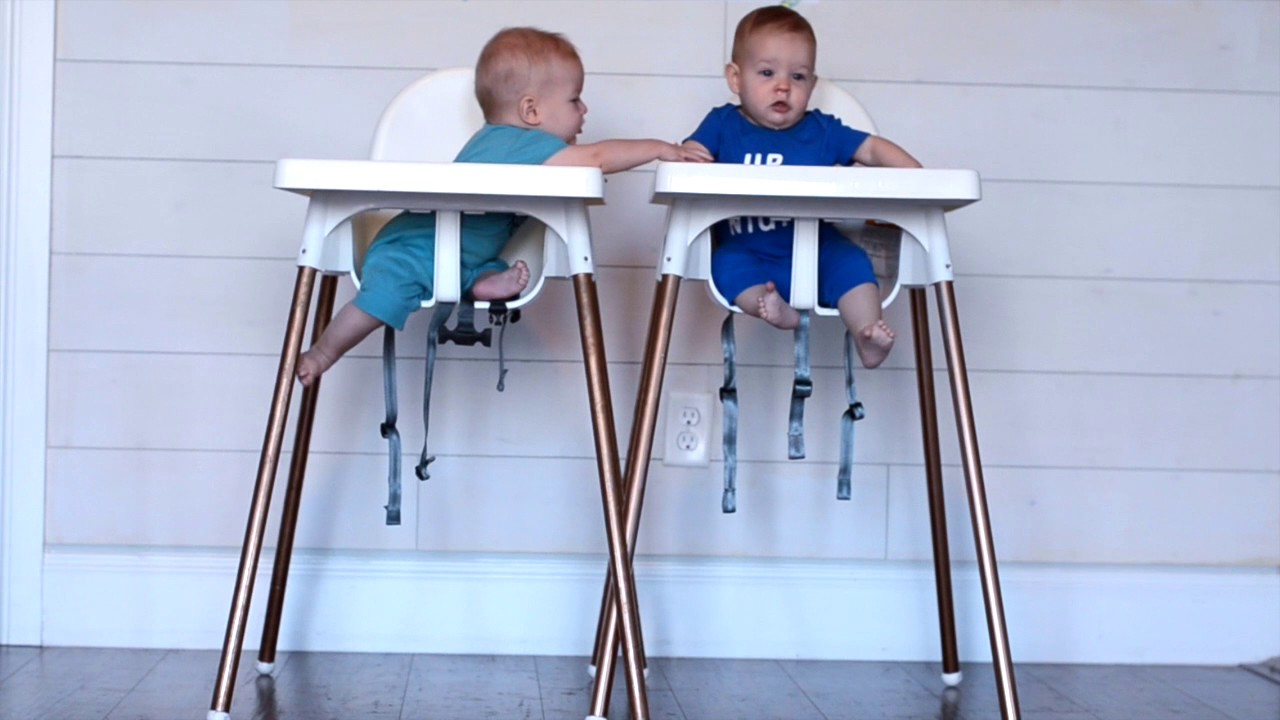 ikea high chair office gliders hack youtube