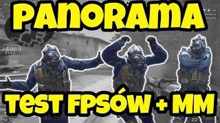 PIERWSZY MM na PANORAMIE + TEST FPS! [CS:GO]