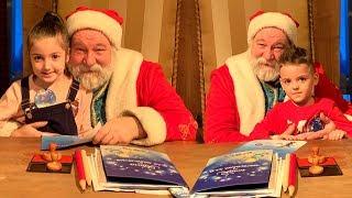 Vania & Masha Play Christmas Story with Santa Claus and Presents