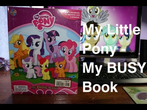 My Little Pony My BUSY Book YouTube