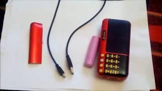 обзор neeka nk-931 на аккумуляторе 18650