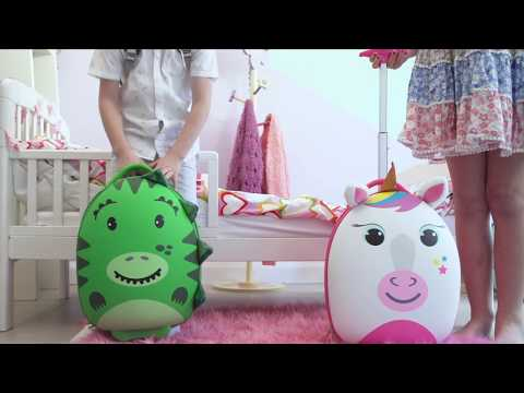 boppi tiny trekker children's luggage