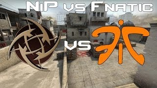 CS:GO | Pro Match - NiP vs. Fnatic(In this match I bring you the Ninjas in Pyjamas versus Fnatic for Mikz Challenge! Subscribe for more episodes of this Let's Play, and other gaming videos!, 2014-05-21T19:33:43.000Z)