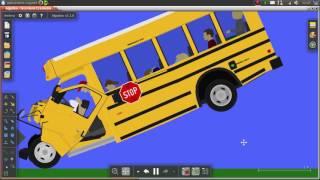 Test de choque De: Bus Escolar de EEUU 2016