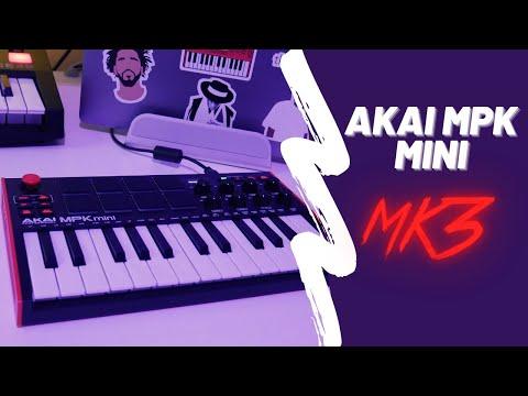 Akai MPK Mini MK3 Review | MK2 vs MK3 Side by Side Comparison