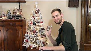 Christmas Village Tree  - Miniature Christmas Village Display - Christmas Decorating