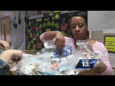 Odenville Elementary School fighting child hunger one meal at a time
