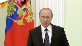 بوتين يعزي فرنسا ويدعو لتعزيز الحرب ضد الإرهاب