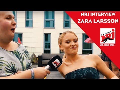 NRJ INTERVIEW - Zara Larsson