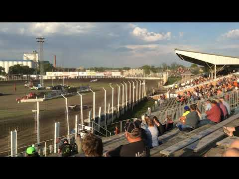 2018 May 25 River Cities Speedway Late model Heat