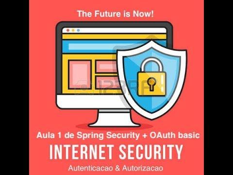 Spring Security + OAuth aula 1 autenticação basica