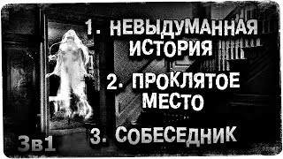 Истории на ночь (3в1): 1.Невыдуманная история, 2. Пр0клятое место, 3.Собеседник