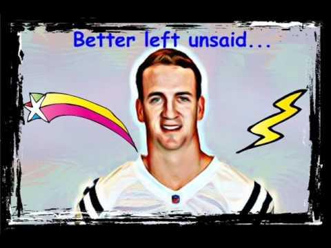 Peyton Manning upset Robert Irsay