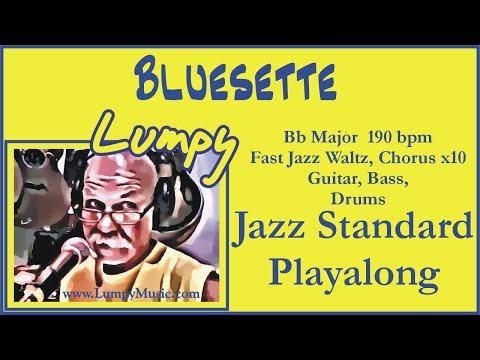 Bluesette Play Along Backing Track - Bb BDG 190