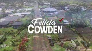Felicia Cowden for Kauai Council