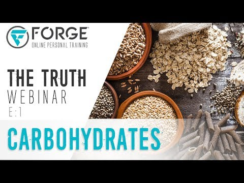 """Carbohydrates: """"The Truth"""" Fitness and Nutrition Webinar Series"""