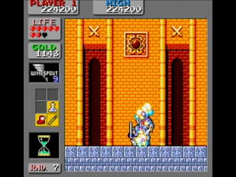 Wonder Boy in Monster Land Arcade - Full Run