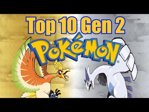 Top 10 Generation 2 Pokémon -  The Gold and Silver Generation