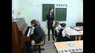 Работа над интервалами по методике Д.И.Шайхутдиновой