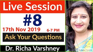 Dr. Richa Varshney Live Session #8 | Acupressure | Aromatherapy | Home Remedies Video