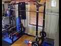default - Titan T-2 Series Dip Bar Attachment for Power Rack Strength Training Workout