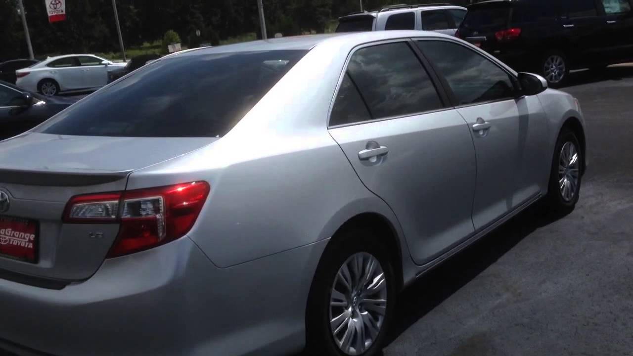 2012 Toyota Camry Le With Sunroof Review