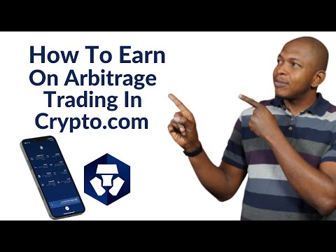 How To Make ₦20k Right Now And Every Month On Arbitrage Trading On Crypto.com