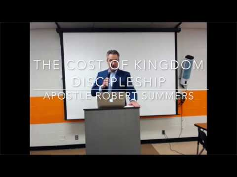 The Cost of Kingdom Discipleship