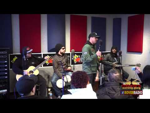 P.O.D. - 4-song Acoustic Set Live on Rover's Morning Glory (fixed)