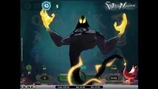 Wishmaster Slot Super Mega Win - NetEnt