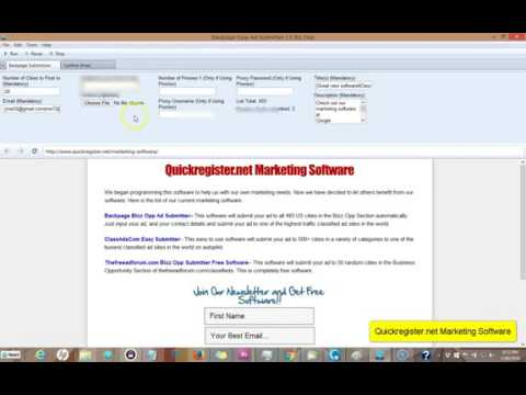 free backpage posting software